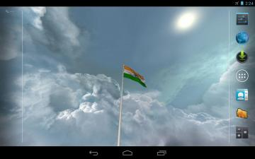 Real India Flag Live Wallpaper   screenshot