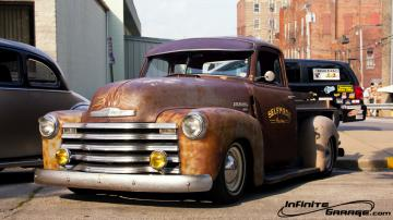 1949 Chevy Rat Rod Pickup Truck Air Bags Custom Chevrolet Hot 50