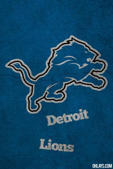Detroit Lions iPhone Wallpaper 5609 ohLays