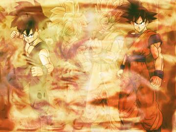 Goku and Gohan Wallpaper by Linkhare on deviantART