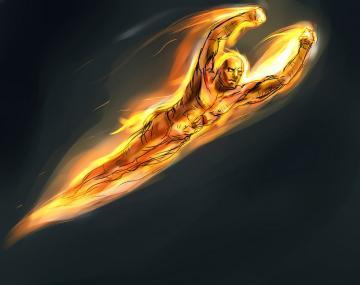The Human Torch Human