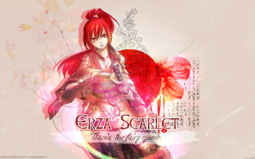 Fairy Tail Erza Wallpaper by SonasGraphics