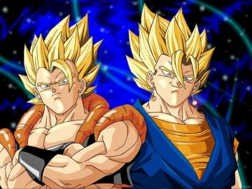 and Super Vegito wallpaper 2   Dragonball Z Movie Characters Wallpaper