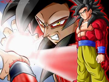Goku Super Saiyan 4 Wallpaper Desktop HD Part II Best Wallpaper