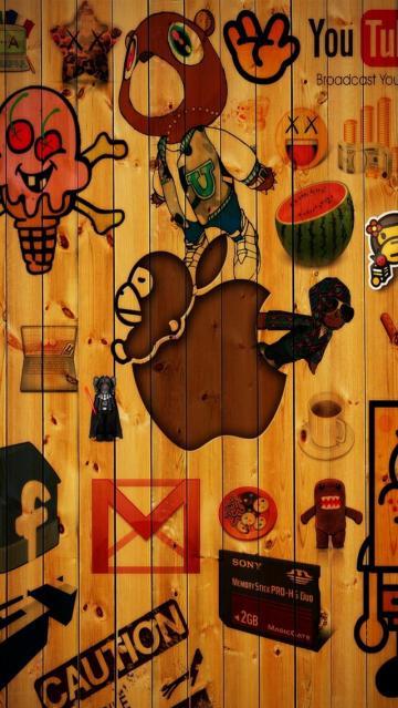 epic logos iPhone 5 Wallpaper Background 640x1136 Photo Image