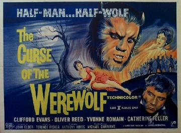 CURSE OF THE WEREWOLF   Hammer Horror B Movie Posters Wallpaper Image