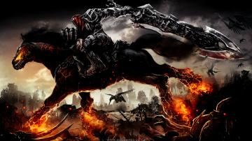 darksiders wallpaper by jaxgraphix fan art wallpaper games enhanced