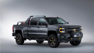 Chevrolet Silverado Black Ops Concept Wallpaper HD Car Wallpapers