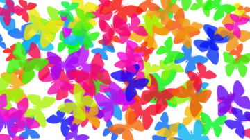 Colorful butterfly background photoshop