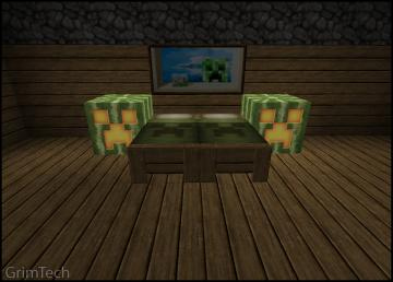 Minecraft Bedroom Set by PatrickJr