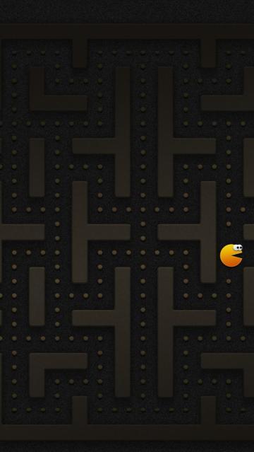 Pacman Halloween iPhone 5s Wallpaper Download iPhone Wallpapers