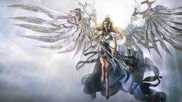 Awesome Angel 3D Fantasy Wallpaper HD Widescreen 1080p Wallpaper with
