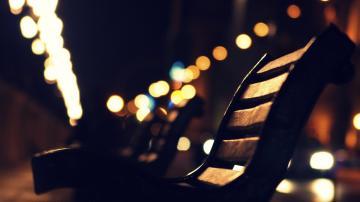 Night Lights Wallpaper 1920x1080 Night Lights Bench