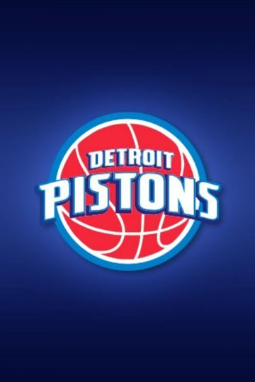 Detroit Pistons iPhone Wallpaper HD