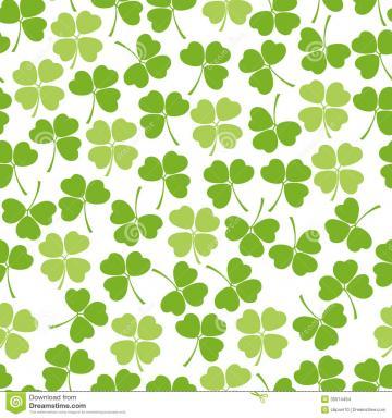 Clover Background Seamless clover background
