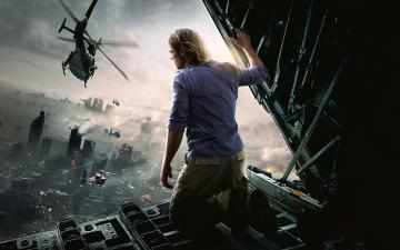 Brad Pitt World War Z Movie Wallpapers HD Wallpapers