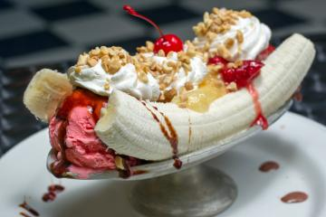 banana split ice cream dessert sweets sugar 1bananasplit wallpaper