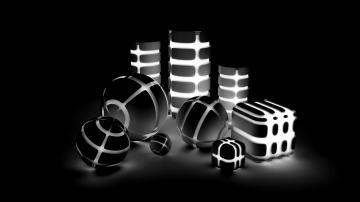 3D Wallpapers Black and White HD Wallpaper 3D Wallpapers Black and
