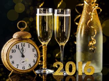 New Year 2016 HD Wallpapers Achtergronden