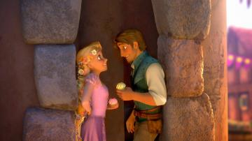 Rapunzel and Flynn love Wallpaper HD Wallpapers Disney Movies