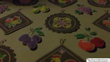 collections wallpaper history vol 1 1940 s fruit vintage wallpaper