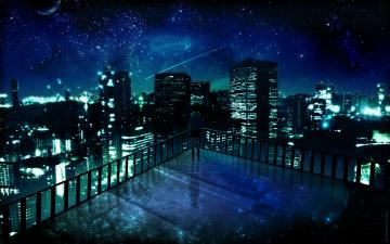 Download Manga Night City Lala Sama Club Ados Design Wallpaper