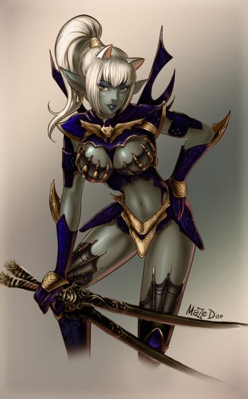 Blade dancer by maze d