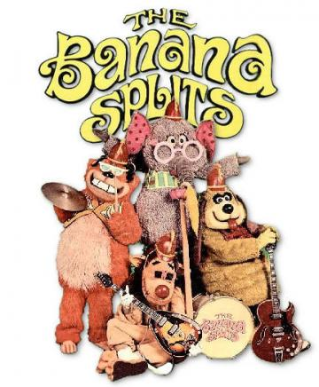 Cartoon Picture Collection Banana Splits Wallpaper