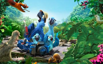 2014 Rio 2 Movie Wallpapers HD Wallpapers
