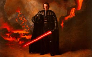 Luke Skywalker vs Darth Vader Anakin Skywalker picture by mynor pk58