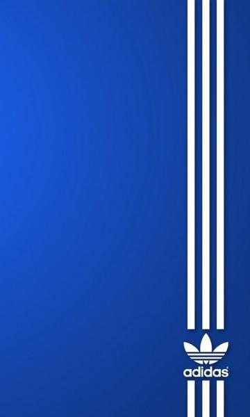 Adidas Blue Samsung Mobile Wallpapers 480x800 Hd Wallpaper Downloads