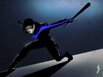 nightwing by TheBabman on deviantART