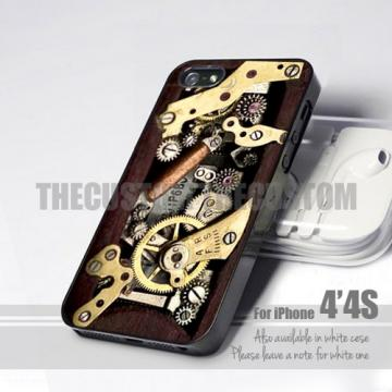 Steampunk Iphone 11298 steampunk   iphone 4 4s