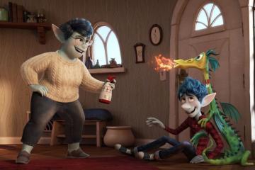 Pixars Onward images show Tom Holland Chris Pratt and Julia