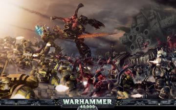 Warhammer 40k Space Marines Chaos Bolter Guns wallpapers 1280800