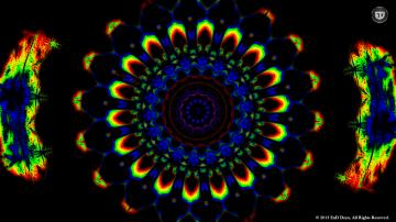 Psychedelic HD Background Wallpaper Trippy Colorful 3D