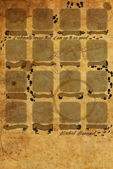 Marauders map Iphone 4 wallpaper Harry Potter Pinterest iPhone