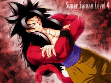 Goku Super Saiyan Level 4   Dragon Ball Z Wallpaper 26188410