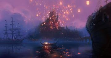 Art From Disney Tangled Wallpaper 1500x790 Full HD Wallpapers