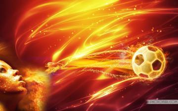 Fire Football Wallpaper Download Wallpapers