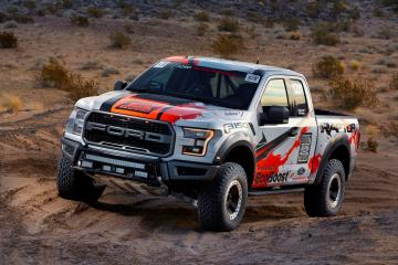 2017 Ford F 150 Raptor Race Truck wallpaper HD desktop