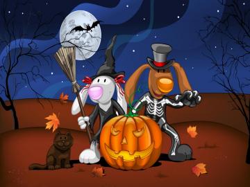 Disney Halloween Desktop Wallpaper
