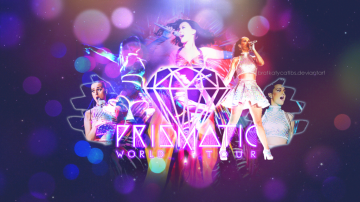 The Prismatic World Tour Wallpaper by BratKatycatLBS