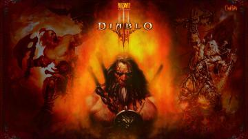 Fiery Barbarian Wallpaper Diablo 3 and Diablo Forums   Diablo