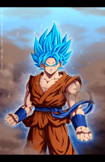 Super Saiyan God Super Saiyan Goku by belucEn