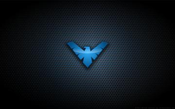 Wallpaper   Nightwing TNBA Logo by Kalangozilla