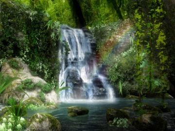Download 3D Waterfall Screensaver   DesktopScreen Savers