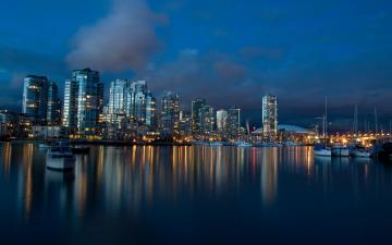 Vancouver Dusk Wallpapers HD Wallpapers