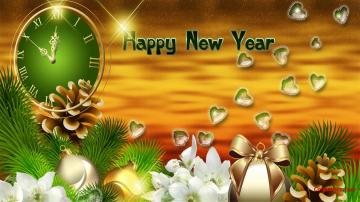 Happy New Year Backgrounds  8