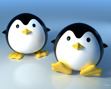 Cute 3D Penguins Wallpapers   HD Wallpapers 293